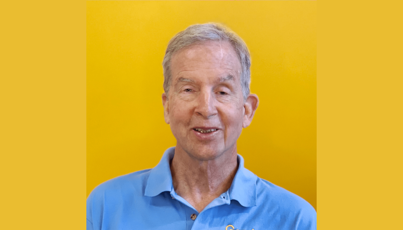 Image of Mike May, Chief Evangelist, Goodmaps, wearing a light blue polo shirt